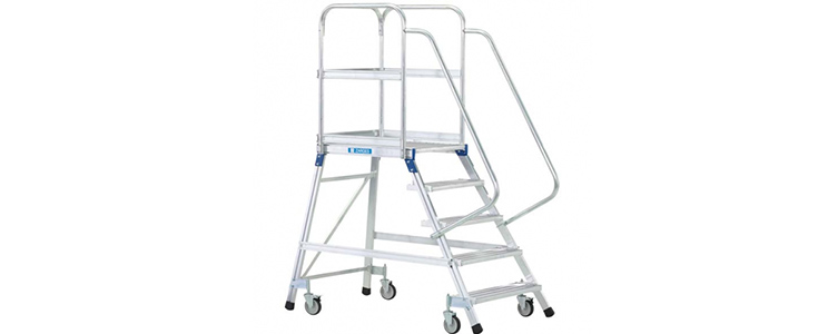 Zarges Z600 Double Sided Mobile Work Platform