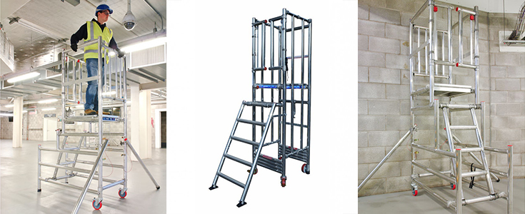 PAS 250 approved access equipment at Browns