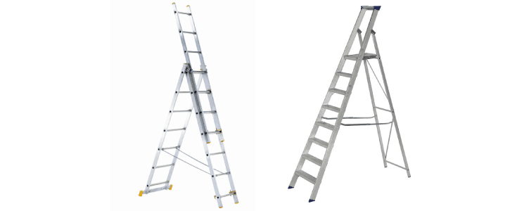 browns ladders for cleaning conservatory